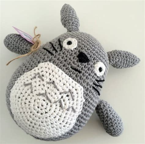 crochet toys my totoro crochet totally hooked toys