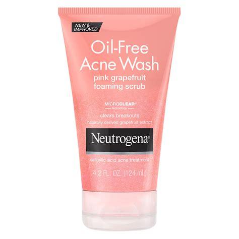 Acnes Wash Acne Wash 100gr neutrogena free acne wash pink grapefruit foaming scrub walgreens
