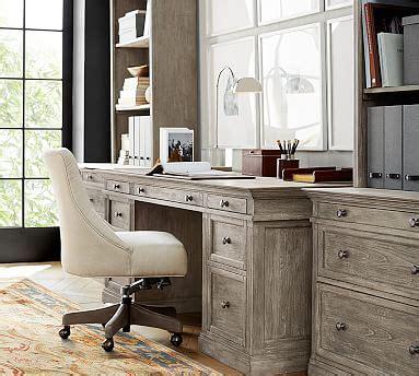pottery barn caign desk livingston large desk pottery barn