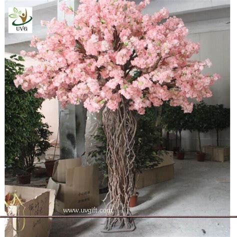 indoor decorative trees for the home uvg chr057 artificial peach blossom tree for window show