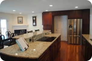 multi level kitchen island kitchens designed for entertaining