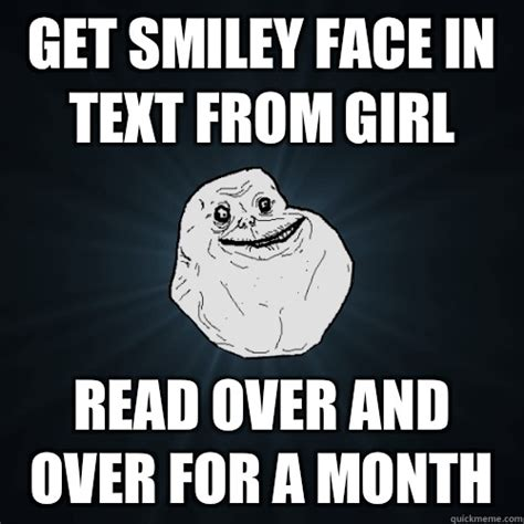 Add Meme Text - get smiley face in text from girl read over and over for a