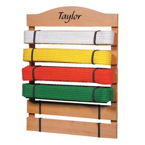 Taekwondo Belt Rack Personalized by Personalized Karate Belt Rack Karate Belt Display