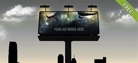 3 billboard templates psd file free download