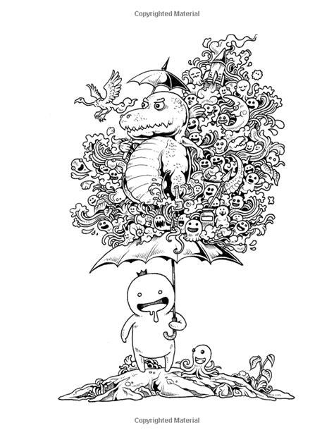 doodle invasion zifflins coloring 83 doodle monsters coloring book 1 monster shits 2 doodle invasion un nouveau livre de