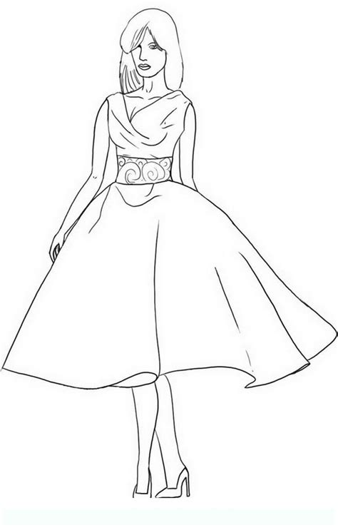 coloring pages for adults fashion fashion teens and adults coloring pages disegni da