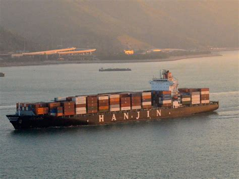 hanjin to there s now a fleet of ghost ships with no where to go