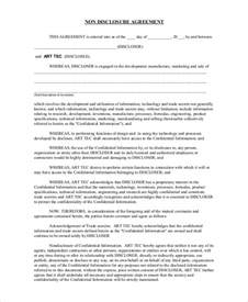 bilateral nda template sle non disclosure agreement 19 documents in pdf word