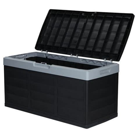 Garage Shelving Tesco Buy Keter Pack N Go Garage Storage Box Black Grey From Our