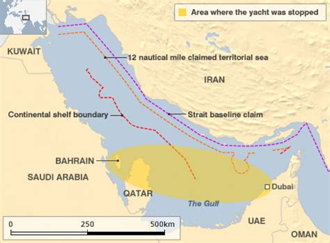 Sea Continental Shelf Summary by News Iran Issues Warning Uk Yacht Crew