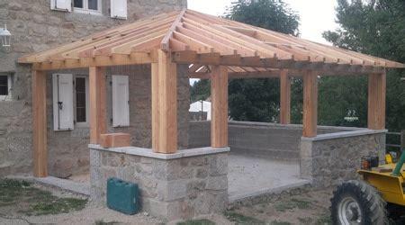 veranda bois en kit 846 prix d une v 233 randa en bois tarif moyen co 251 t de