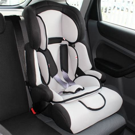 forward facing car seats deluxe black grey adjustable childs car booster