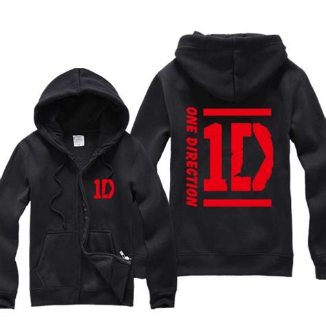 Jaket Zipper Hoodie Sweater One Direction Abu 5 popular one direction hoodies buy cheap one direction