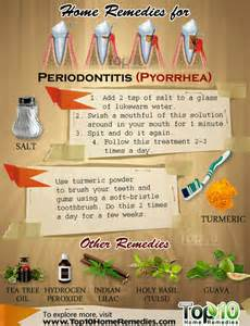 gum pockets home treatment home remedies for periodontitis pyorrhea top 10 home