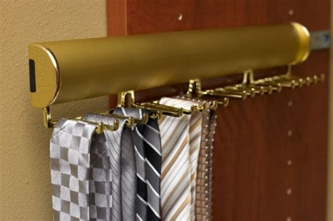 California Closet Tie Rack by Pull Out Tie Rack Organization Ideas