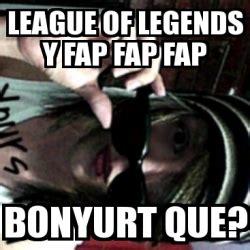 Memes Generator En Espaã Ol - meme personalizado league of legends y fap fap fap