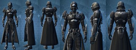 swtor sith inquisitor armor star wars the old republic tulak hord vs sith recluse