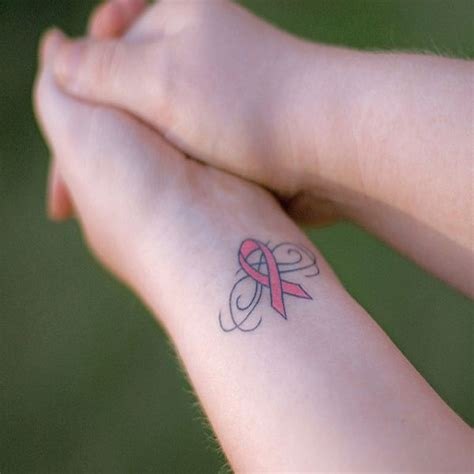 breast cancer wrist tattoos collection of 25 believe breast cancer on wrist