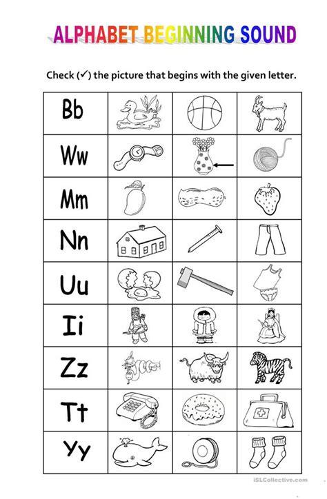 Alphabet Sounds Worksheets by 28 Letter Sound Correspondence Worksheets Alphabet
