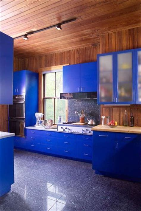 Cobalt Blue Kitchen Cabinets cobalt blue cabinets home