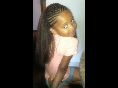 styles for crochet hair for 11 year olds crochet braids kids style youtube