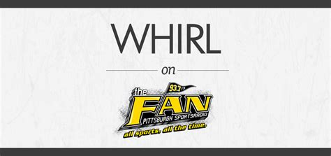93 7 the fan 93 7 the fan what s in a name whirl magazine pittsburgh