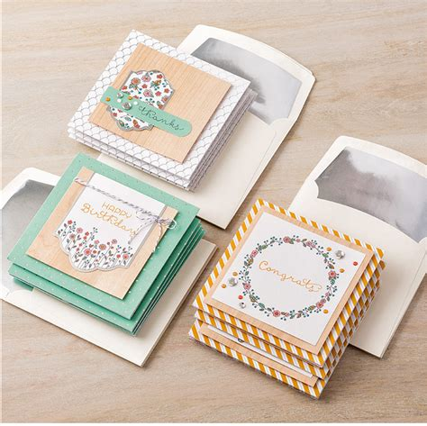 Handmade Kits - cottage greetings card kit sting with tracy