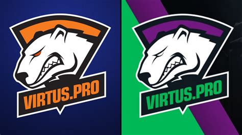 new jersey colors here s why virtus pro has changed its logo and jersey