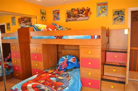 decorations basement bedrooms basements and old boys on disney avengers superhero bedroom decorating www