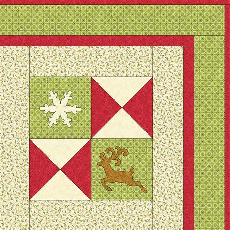 Accuquilt Quilts by Accuquilt Go Reindeer Quilt Die 55353