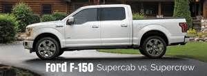 Supercab Ford Ford F 150 Supercab Vs Supercrew What S The Difference