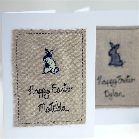 Personalised Handmade Cards - personalised handmade easter card by handmade at poshyarns