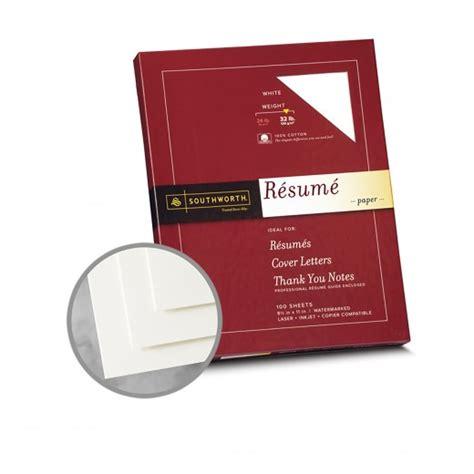 white paper 8 1 2 x 11 in 32 lb bond wove 100 cotton southworth resume 100 cotton paper 3