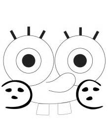 Spongebob Squarepants Template by Spongebob Template Coloring Page H M Coloring Pages