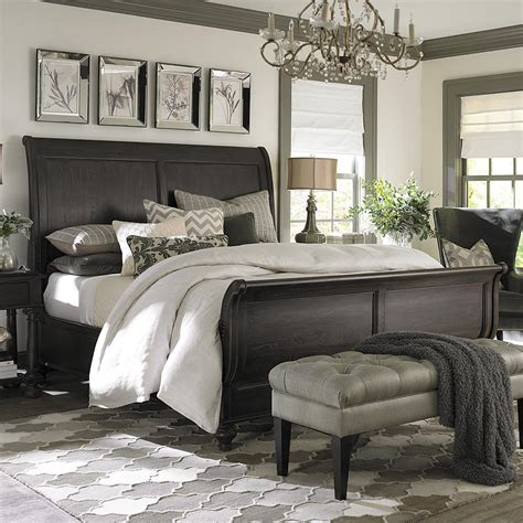 home design studio bassett emporium queen sleigh bed bassett home furnishings