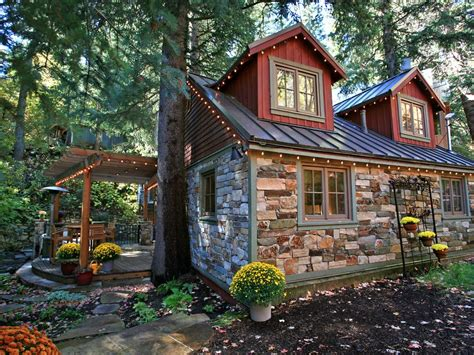 stone cottage in the woods wood and stone house exteriors storybook stone cottage is charming vrbo