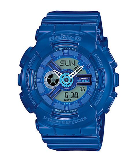 Baby G Ba 110 Blue g shock baby g ba110bc 2a blue at zumiez pdp