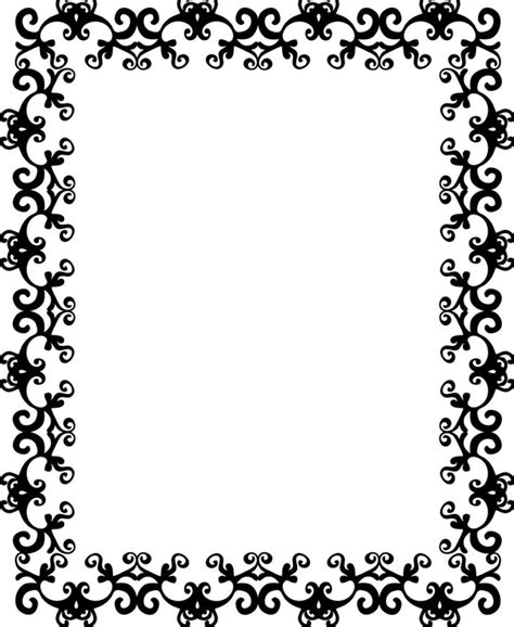 Decorative Borders by Decorative Borders For Word Clipart Best