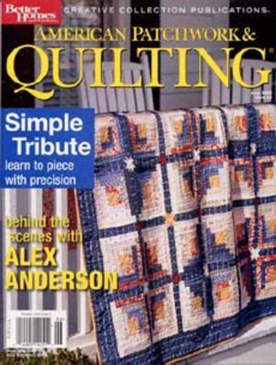 Patchwork Quilting Magazine - american patchwork quilting magazine subscription