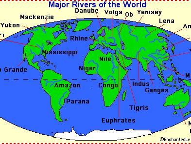world rivers map ks2 geography locating rivers of the world activity sheet by