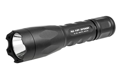 surefire p2zx new surefire fury tactical defender and combatlight recoil