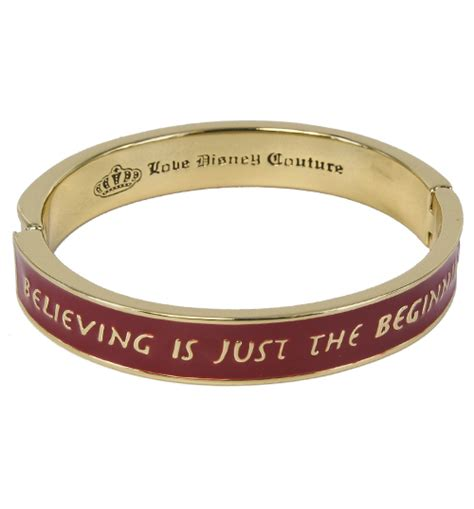 Tinker Bell Believing Is Just The Beginning Bead disney couture bracelets