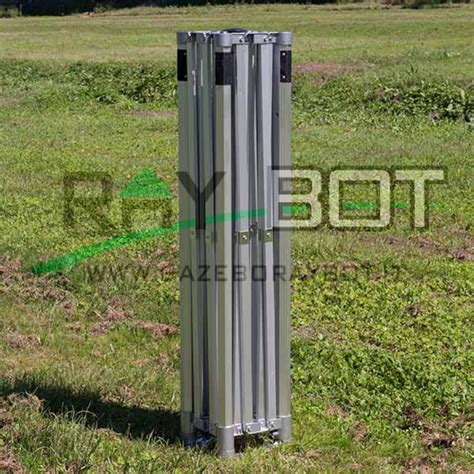 gazebi rapidi gazebo rapido 4x8 alluminio bianco exa 55mm senza laterali
