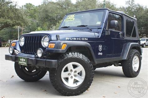 2003 jeep rubicon transmission 2003 quot patriot blue quot 1st generation rubicon 144k
