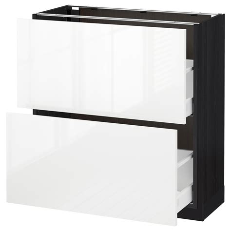 metod maximera base cabinet with 2 drawers white grevsta metod maximera base cabinet with 2 drawers black ringhult