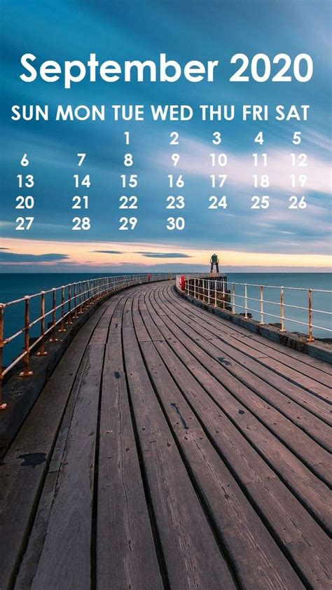 september  iphone wallpaper calendar wallpaper months   year