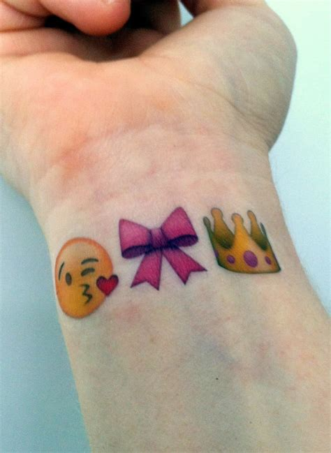 emoji tattoo pictures custom temporary tattoos emoji sets princess