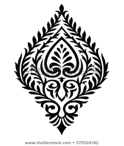 traditional indian motif stock vector royalty