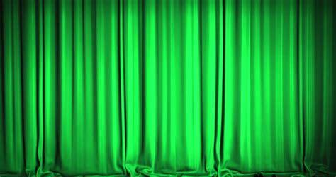 green velvet curtain opening stock footage video