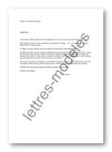 Modèle et exemple de lettres type : Demande d'inscription